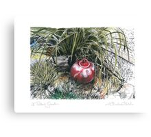 A Potter's Garden (No.8) Canvas Print