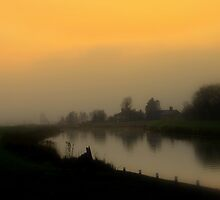 misty morning by shaun pearce