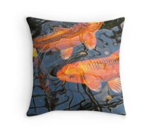 Dreamy Koi Throw Pillow