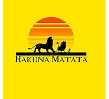 Hakuna Matata Photographic Print