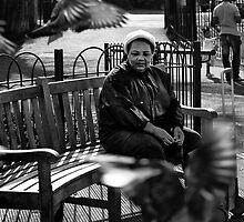 Bird Lady by John Hooton