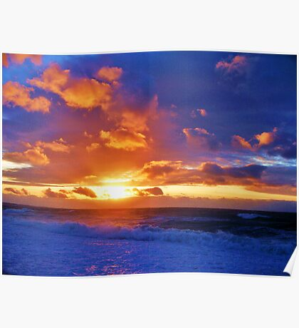 Skyscape Seascape Poster