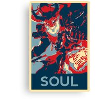 Thresh - League Of Legends - Bloodmoon - Soul Canvas Print