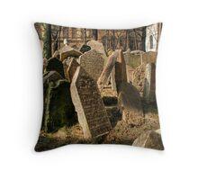 Tombstones Throw Pillow