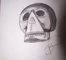 Crystal Skull by bonnierocks