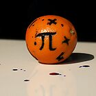 Maths Orange by Loz Still