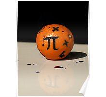 Maths Orange Poster