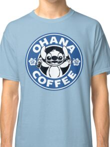 Ohana Coffee - Blue Version Classic T-Shirt