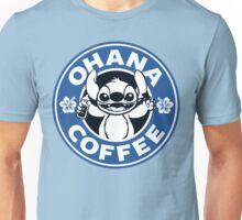 Ohana Coffee - Blue Version Unisex T-Shirt
