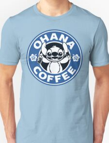 Ohana Coffee - Blue Version T-Shirt