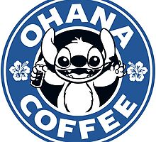 Ohana Coffee - Blue Version by Ellador