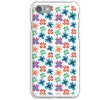 Colourful butterflies pattern iPhone Case/Skin