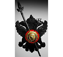 Shield and Sword Photographic Print