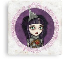 Tin Girl Canvas Print