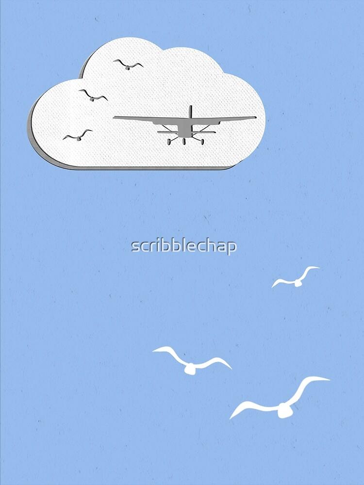 Wall Paper Plane by scribblechap