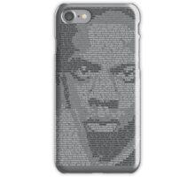 Jay-Z Lyric Portrait iPhone Case/Skin