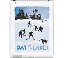 Day on the Lake Hockey iPad Case/Skin