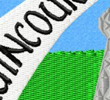 Welcome to Agincourt Sticker