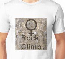 Women Rock Climb Unisex T-Shirt