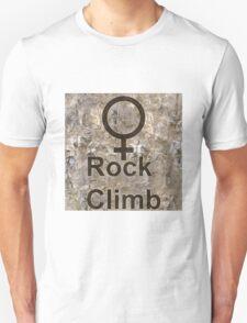 Women Rock Climb T-Shirt