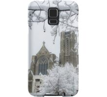 The Church of St. Mary/St. Paul in Winter Samsung Galaxy Case/Skin