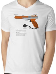 Nes Zapper Shoot them! Mens V-Neck T-Shirt