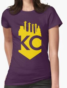 KC Skyline Crown Womens Fitted T-Shirt
