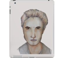 Edward Cullen Watercolour iPad Case/Skin