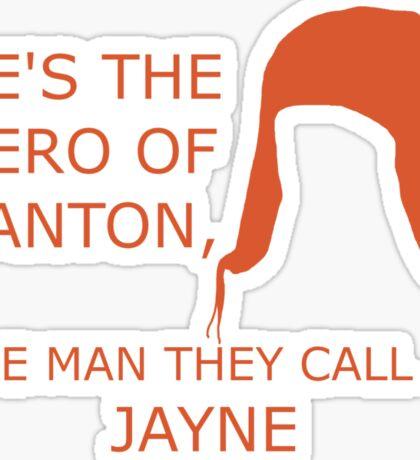 Hero of Canton Sticker