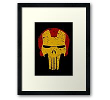 Iron Punisher Framed Print