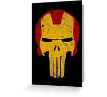 Iron Punisher Greeting Card
