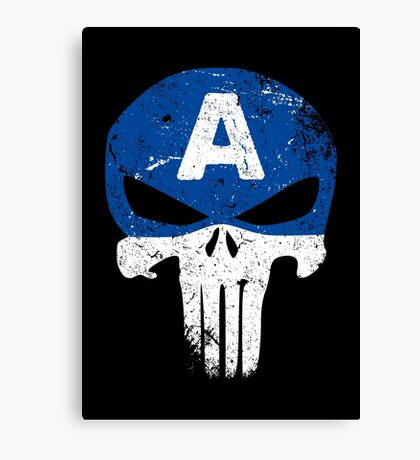 Captain Punisher Canvas Print