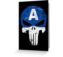 Captain Punisher Greeting Card