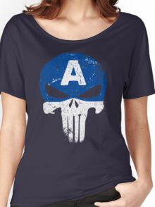 Captain Punisher Women's Relaxed Fit T-Shirt