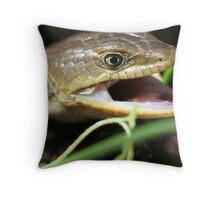 Alligator Lizard  Throw Pillow