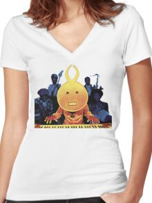 Herbie Hancock T-Shirt Women's Fitted V-Neck T-Shirt
