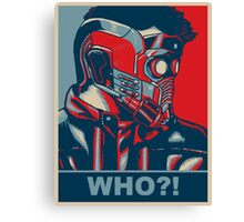 Who?! Canvas Print