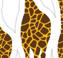 Safari Giraffe Sticker