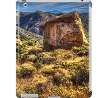 Monolith on the Trail at Sears-Kay Ruins iPad Case/Skin