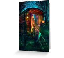 Gypsy Firefly Greeting Card