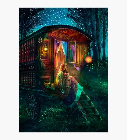 Gypsy Firefly Photographic Print