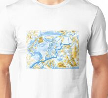 TIGER BLUE TIGER WHITE TIGER BROWN  Unisex T-Shirt