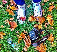 Autumn Artist by irishkiwipcards
