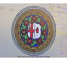 The Irish Society Coat Of Arms..................Derry Photographic Print