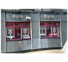 Bank for Sale - Recession Poster