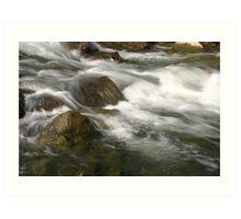 Water Rush Art Print