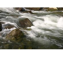 Water Rush Photographic Print