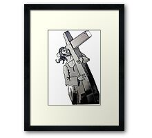 Carry your Cross Framed Print