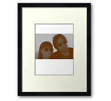 Californication - Hank and Becca Framed Print