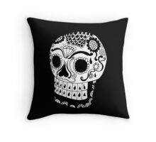 Urban Phenom™ Day of the Dead Skull Throw Pillow